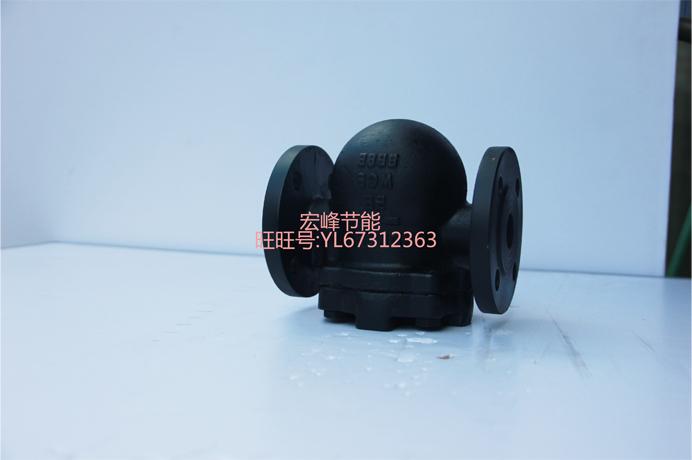 美标FT44H-150Lb不锈钢杠杆浮球式蒸汽疏水阀