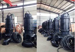 大功率潜水排沙泵,大流量潜水渣浆泵,潜水泥沙泵-中国泵城直供