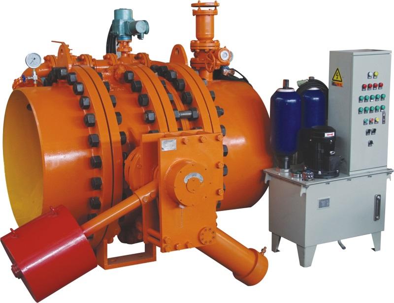 水电站液动蝶阀成套装置