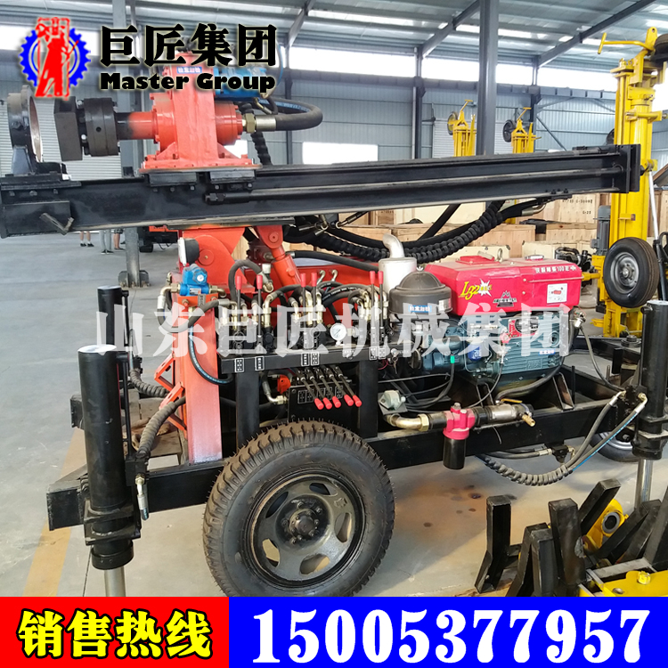 山东华夏巨匠180米水井钻机KQZ-180D
