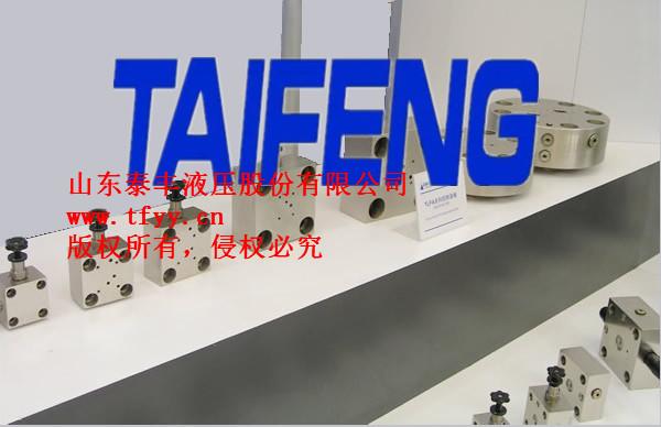 TLFA泰丰控制盖板(方向控制和压力控制)