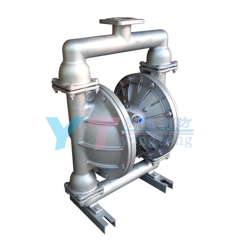 304不锈钢气动隔膜泵QBY-50