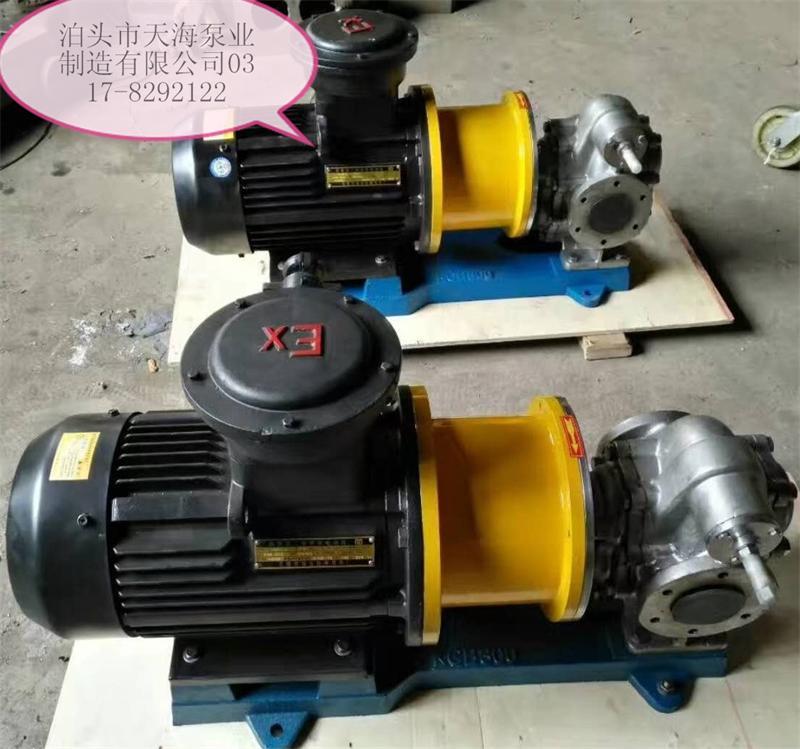 供应磁力驱动的KCB齿轮泵