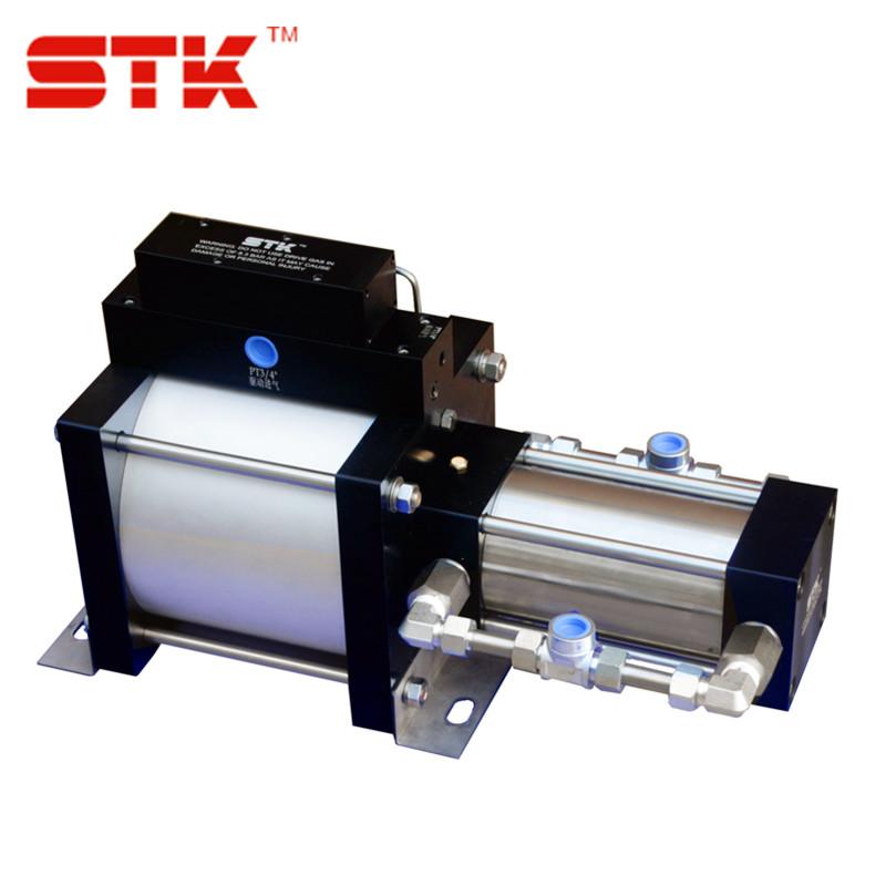 气动冲压机 热流管道增压泵 液体增压泵 液体加压输出泵 往复泵