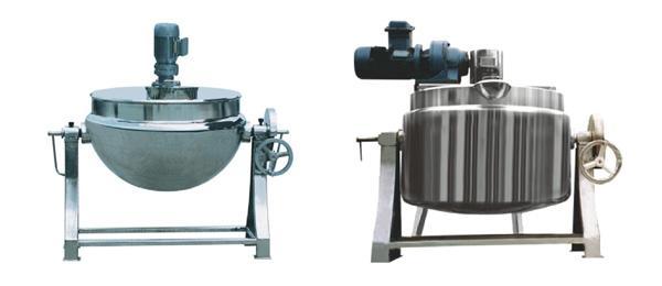 亿德利供应QJ50~1000立式/卧式夹层锅/可倾式夹层锅