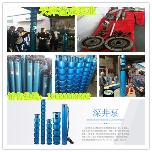 250QJ深井泵,100米深井泵,37KW深井泵厂家-天津潜成泵业(信誉商家)