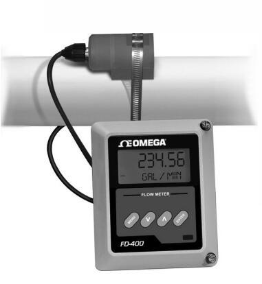 博锐FD-400多声道超声波流量计多声道插入式 外夹式管段式
