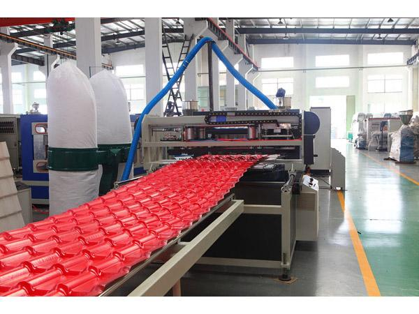 合成树脂瓦设备|大红竹节瓦生产线|仿古波浪瓦机器