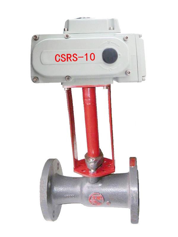 一体式电动高温蒸汽球阀/电动缩径球阀/电动二通球阀
