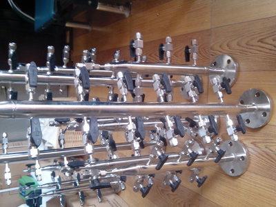 304不锈钢气源分配器厂家 海蓝仪表
