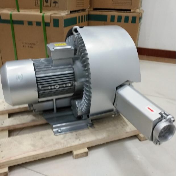 污水处理厂专用2HB520-HH57曝气风机4KW双段高压风机
