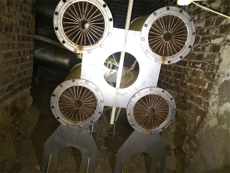 煤矿井口专用电磁加热热风炉