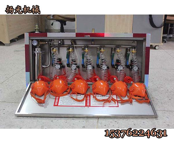 兴安盟矿井压风供水自救装置安装使用说明