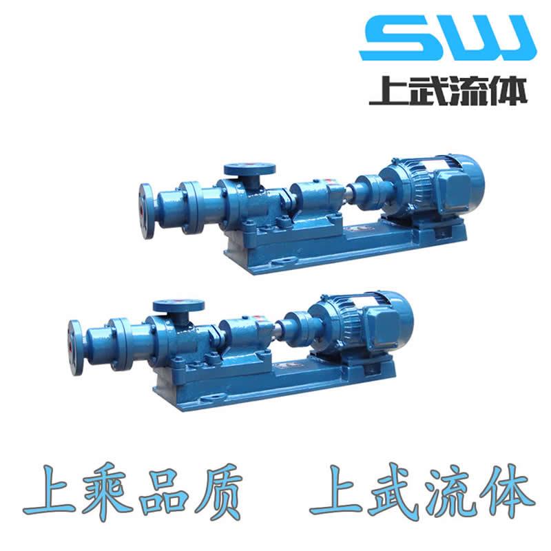 I-1B型铸铁螺杆泵  铸铁浓浆泵 I-1B型浓浆泵