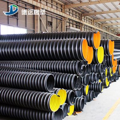 永城排污塑料管 钢带螺旋波纹管流通性好
