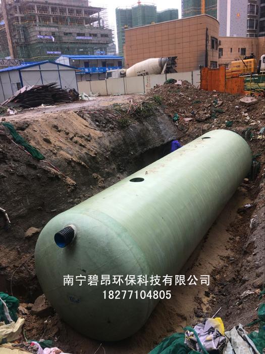 广西贵港HFRP-100玻璃钢化粪池规格型号
