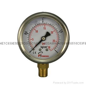 厂家直销  优质耐震压力表