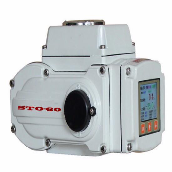 STOP液晶智能型,精小型电动执行器,带远程遥控器