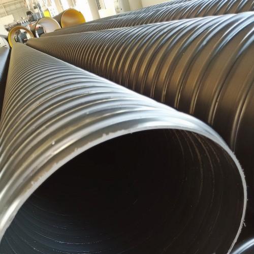 河南400钢带波纹管400HDPE聚乙烯波纹管价格