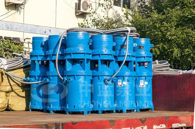 中吸式潜水轴流泵安装