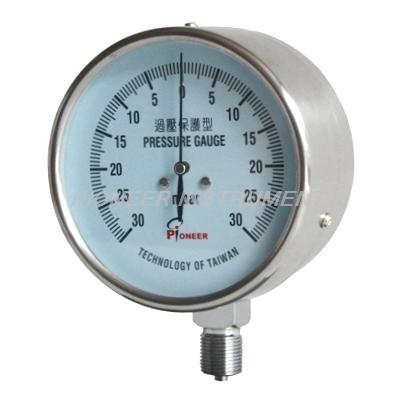 东莞PIONEER供应不锈钢壳压力真空毫巴表