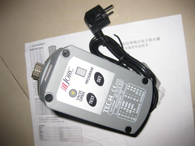TEC44荷兰JORC程控球阀电子排水器