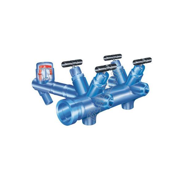 CODI S  预制紧凑型冷凝水收集器与蒸汽分配器