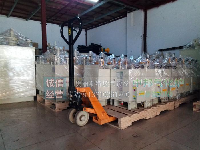 冬天煤气瓶结冰结霜、活力不足,安装电加热式气化炉管道改造