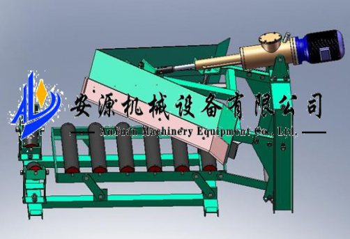 北京化肥厂用卸料器B=800犁煤器