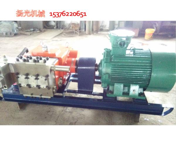 煤矿用BPW250/6.3型喷雾泵使用维护说明