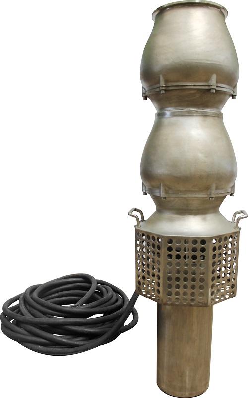 WQ-QGP-D超轻便携式多级反斜流潜水泵