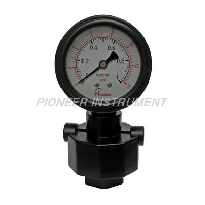 PIONEER优质PP隔膜压力表