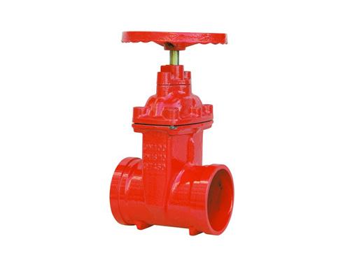 消防明杆沟槽闸阀厂家设计图纸安排生产