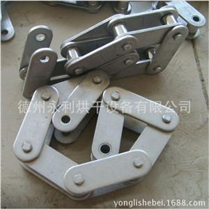 批发不锈钢链条 双节距传动与输送用滚子链 216A大滚子链条加工