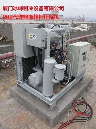 全国供应小螺杆变频制冷机组