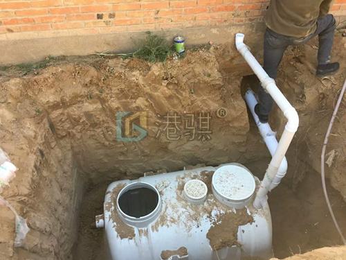 【农村改厕工程施工方案】高压节水冲厕器视频-港骐