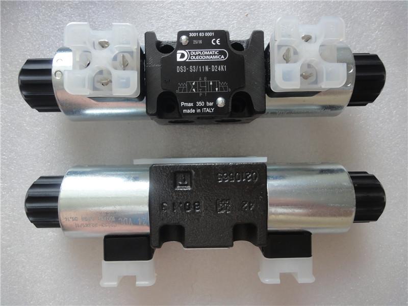 迪普马DUPLOMATIC电磁换向阀DS3-S3/11N-D24K1