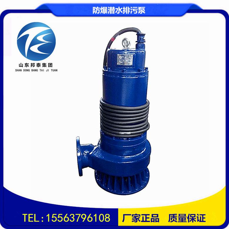 WQB防爆型排污泵WQB30-30-5.5KW潜水排污泵直销