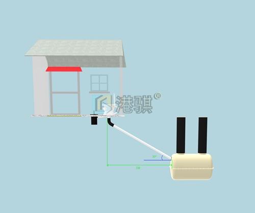 农村大缸厕■所1.5立方三格∑ 式化粪池做法图片价格品牌厂家♀港骐