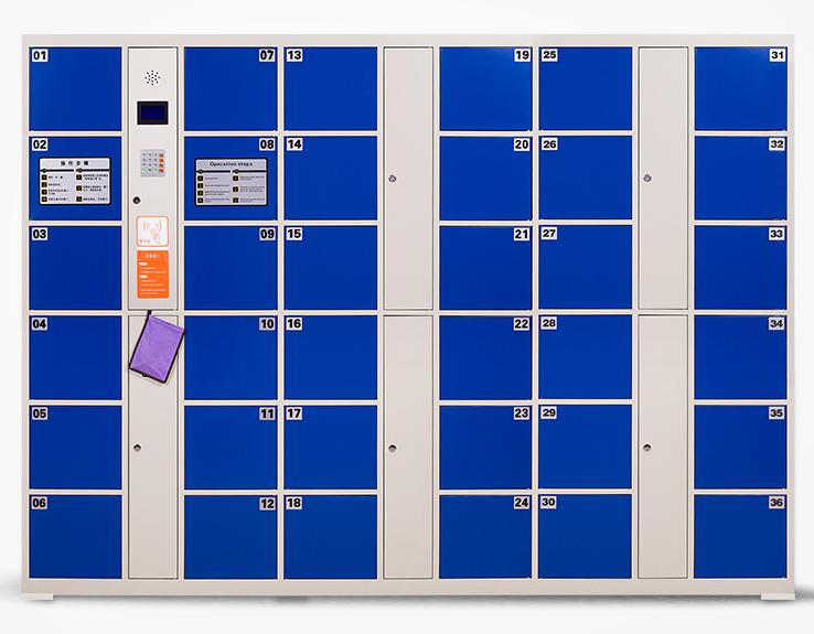 联网寄存柜丨刷卡联网寄存柜