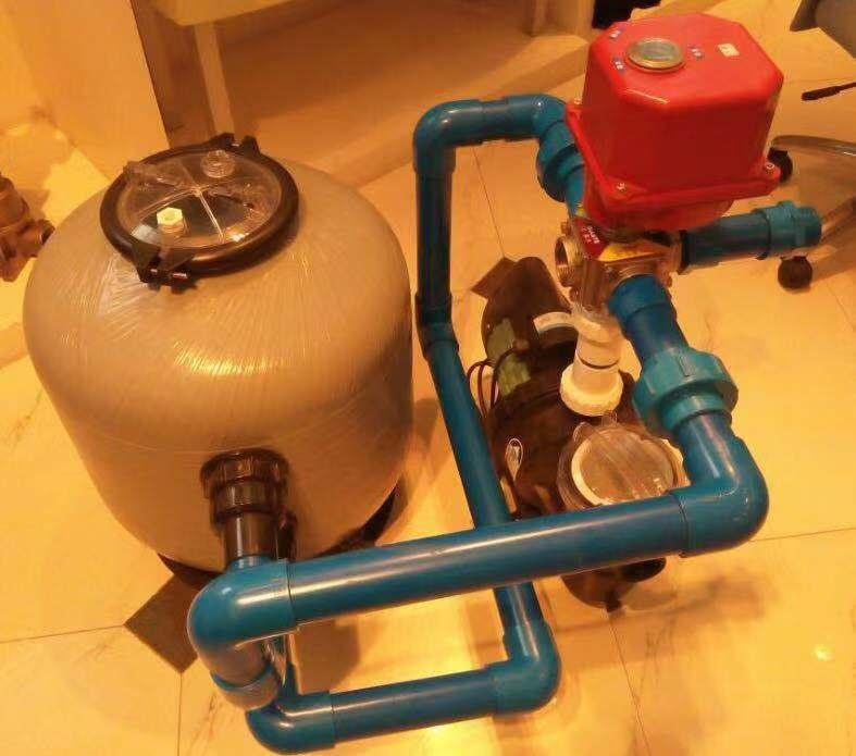全自动砂缸反洗电动阀