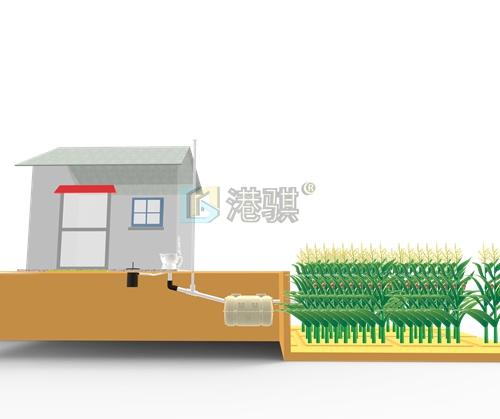 化粪池厂商化粪池水管接法图(图片价格品牌厂家)港骐