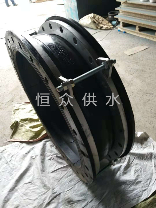泵出口专用橡胶接头防拉脱