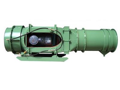 18.5kw矿用除尘风机,煤矿防爆除尘风机工作视频