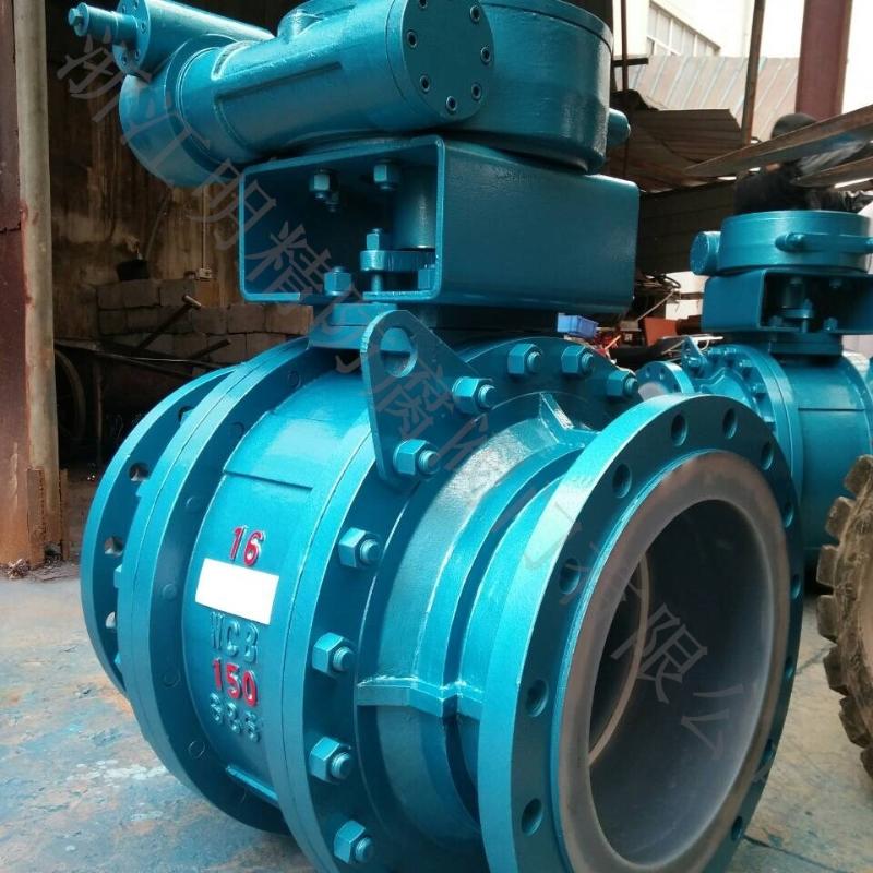 Q347F46-10C DN400 DN500三段式美标衬氟球阀 质量保证