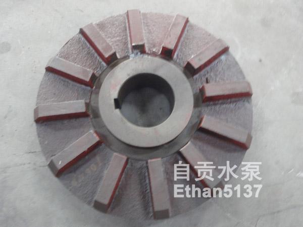 自贡水泵100ND型泥浆泵渣浆泵叶轮前后护板护套副叶轮等各种配件