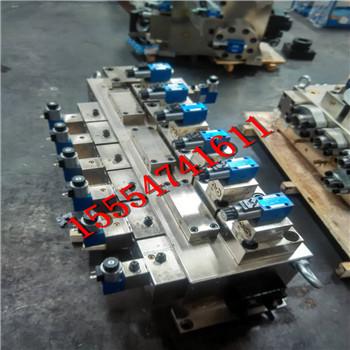 泰丰标准型注塑机油路板三大件压力、注射、锁模阀板逻辑阀盖板