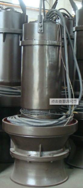 不锈钢潜水轴流泵_小型河流吸水排水