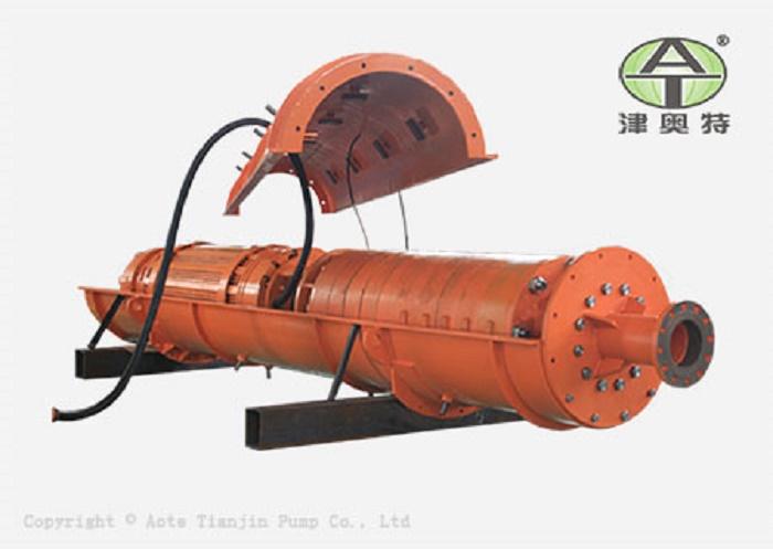 YQ型卧式潜水泵_高压大流量矿用