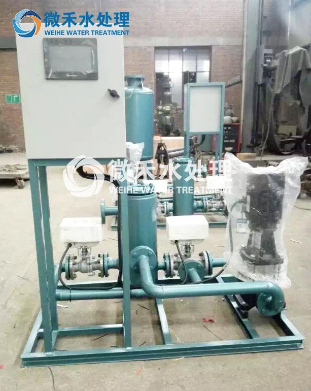 中央空调暖通循环冷凝器胶球在线清洗装置水处理自动在线清洗机组